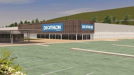 Il progetto della sede di Decathlon a Olmo