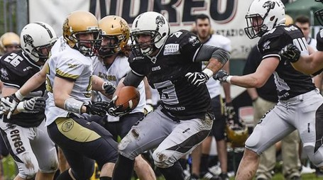 I Panthers Parma in azione (Photografem)