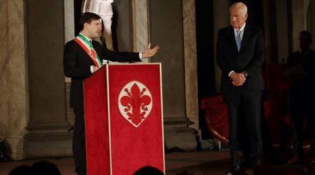 Il sindaco Nardella con Paolo Fresco