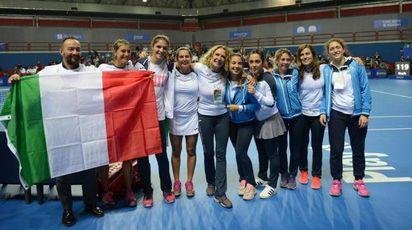 Tennis, scudetto femminile al TC Prato
