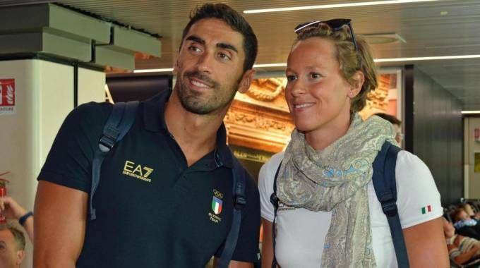 COPPIA SCOPPIATA Per anni Federica Pellegrini e Filippo Magnini sono stati i fidanzati più glamour dello sport nazionale: è di pochi giorni fa  la rottura