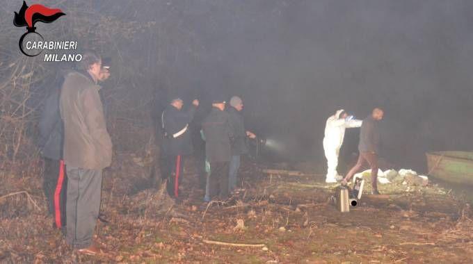 Il ritrovamento del cadavere di Gabriella Fabbiano (Newpress)