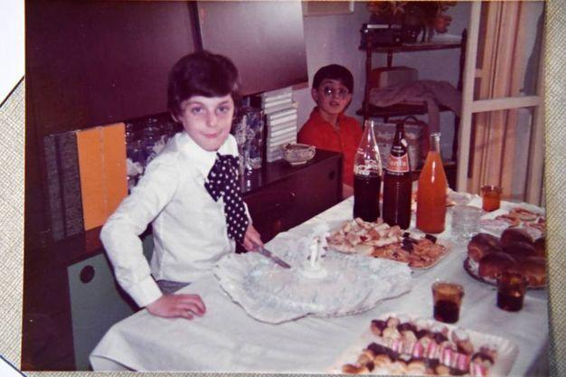 Gianluca Raimondo Pagliuca da bambino (fotoSchicchi)