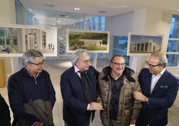 La presentazione del progetto della nuova fabbrica di Della Valle ad Arquata (Foto Zeppilli)