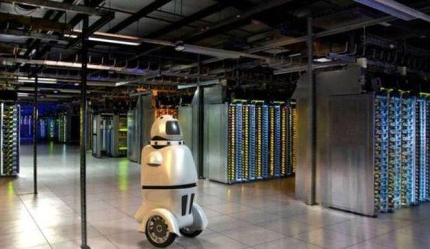 Un rendering della guardia-robot RAMSEE (Foto: Gamma 2 Robotics)