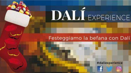 l'Epifania insieme a Dalí