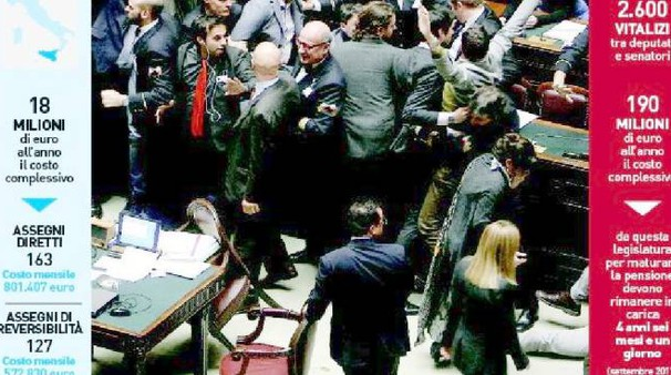 Vitalizi d oro ai deputati siciliani reversibilit in for Deputati siciliani