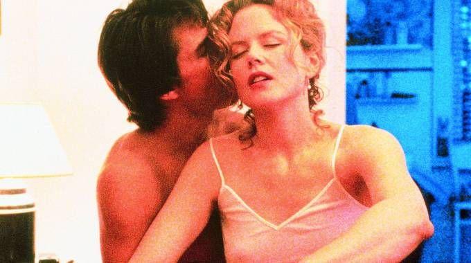 Nicole Kidman e Tom Cruise protagonisti del fil 'Eyes Wide Shut'
