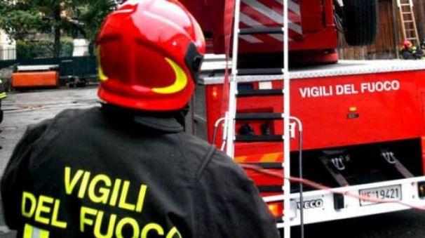 Vigili del fuoco (foto di repertorio)