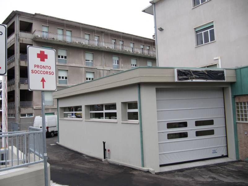 Il Pronto Soccorso rinnovato dell'ospedale di Urbino (Foto Ottaviani)