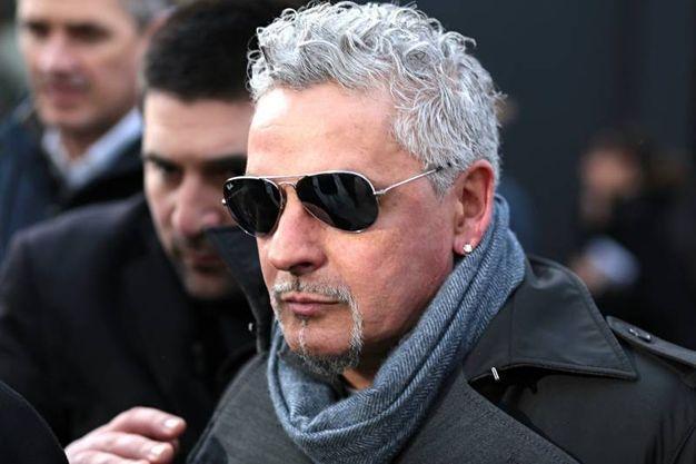Roberto Baggio a Pitti Immagine Uomo (foto Edoardo Abruzzese/New Pressphoto)