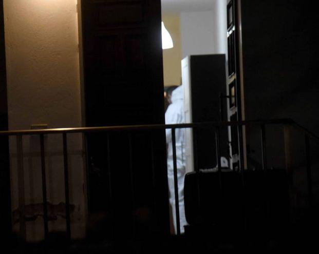 L'interno della villetta (foto Businesspress)