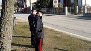 Due carabinieri (foto Bianchi)