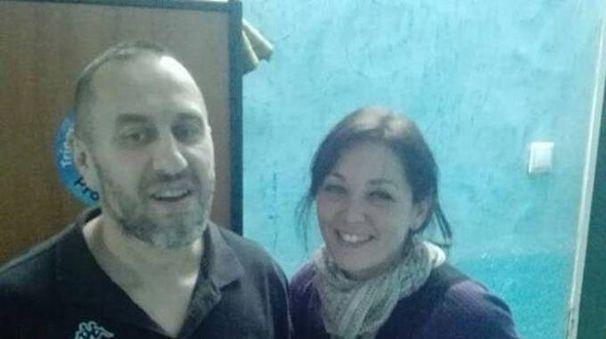 Alessandra Gullo e Cristian Provvisionato pochi giorni fa in Mauritania