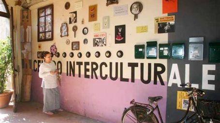 L'ingresso del centro culturale Trama di terre