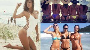 Alessandra Ambrosio in vacanza con le amiche in Brasile (Instagram)
