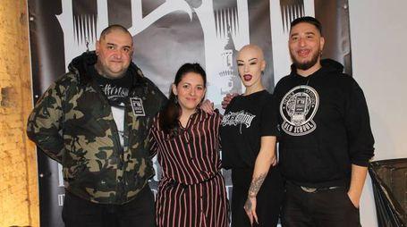 Gli organizzatori dell'evento (foto Nigrisoli)