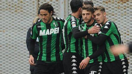 Goleada al Palermo, il Sassuolo fa festa (LaPresse)