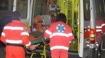 Incidente mortale a Budrio, soccorsi in una foto d'archivio (Aprili)