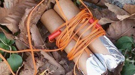 I fuochi artificiali trovati a Caprigliola e scambiati per una bomba