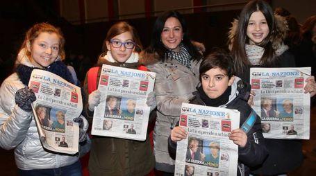Parte il campionato di giornalismo (Marco Mori/New Press Photo)