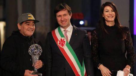 Hall of Fame del calcio italiano, il premio a Maradona (Germogli)