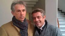 Da sinistra l'avvocato Marco Lamberti e Luca Benassi