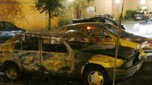 Auto a fuoco a San Giusto