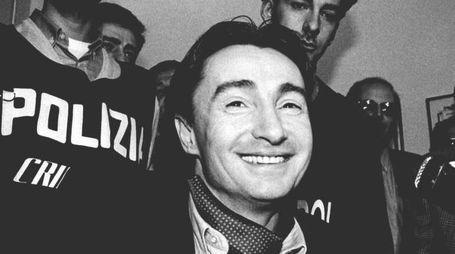 Un'immagine d'archivio di Felice Maniero