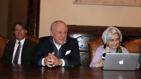 Il professor Moriconi con i colleghi