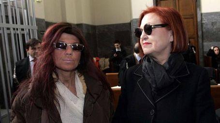 Wanna Marchi e la figlia Stefania Nobile (Archivio Ansa)