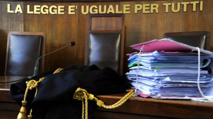Tribunale (foto d'archivio)