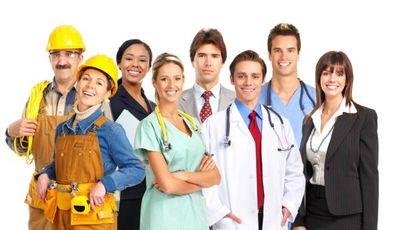 Un gruppo di lavoratori