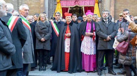 Autorità religiose e civiche fuori dal Duomo