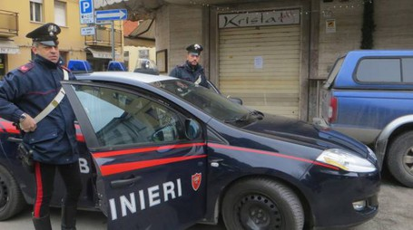 Una pattuglia del Radiomobile dei carabinieri