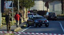 Incidente auto-moto davanti alla stazione ferroviaria