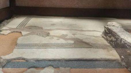 Il pavimento della Domus e i mosaici oggi recuperati dal restauro