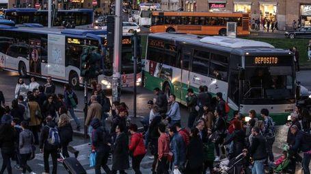 La parte finale di via Nazionale, dove potrebbero esserci grossi problemi di traffico