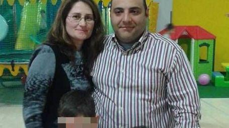 La famiglia Parete, sopravvissuta alla tragedia dell'Hotel Rigopiano