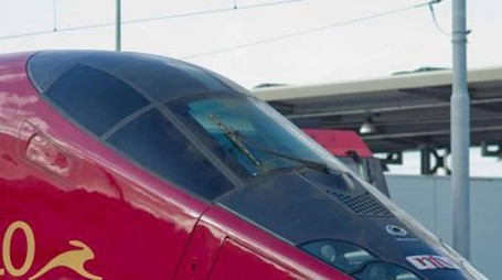 """Un treno """"Italo"""" di Ntv"""