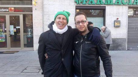 Cristiano Militello immortalato a Legnano