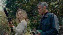 Un frame del film 'The American', girato da Clooney anche in Abruzzo