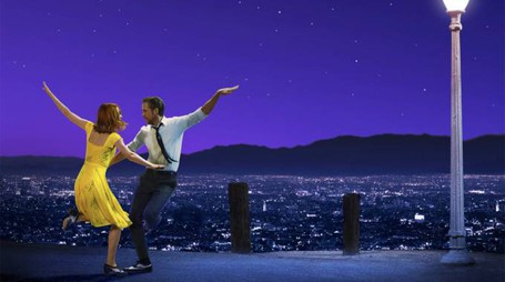 Un dettaglio del poster di 'La La Land' – Foto: Black Label Media