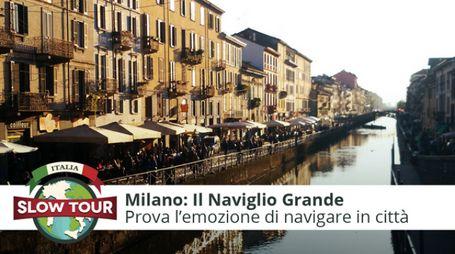 Milano: Naviglio Grande