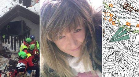 Rigopiano, Linda Salzetta: l'ultima vittima riconosciuta (Ansa)