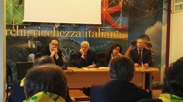 L'incontro con il ministro Galletti