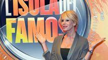 Alessia Marcuzzi presenta l'Isola dei famosi 2017 (Ansa)