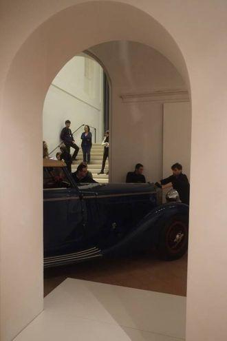 L'Isotta Faschini costava la folle cifra di circa 150.000 lire (Foto Frasca/Fantini)
