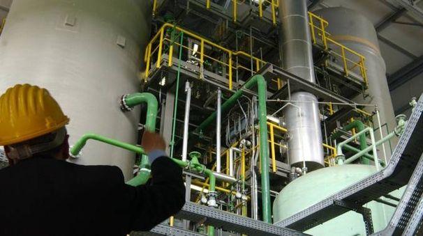 Un impianto per gas tecnici