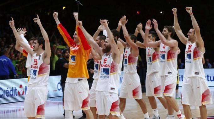 La Spagna vincitrice nel 2015